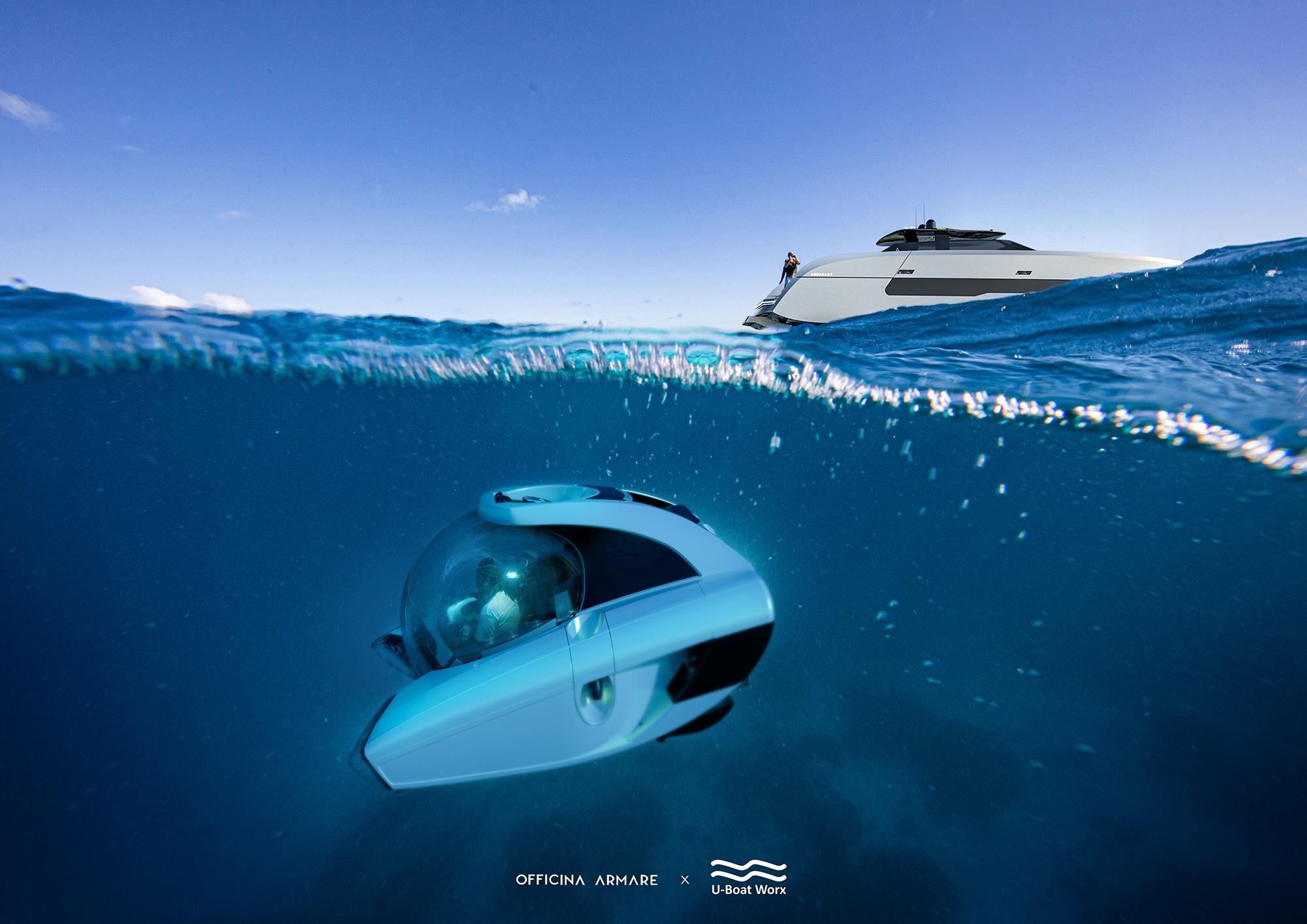 U Boat Worx Nemo underwater